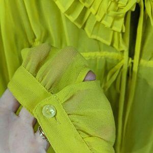 ASOS Tops - ASOS Bright & Beautiful Ruffle Blouse